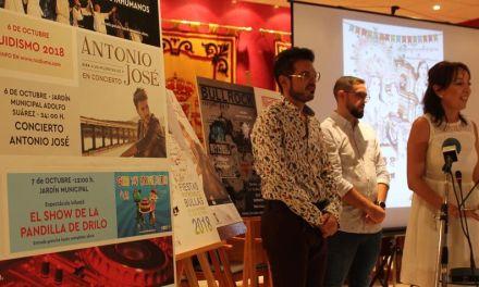 Presentada la programación de las Fiestas Patronales de Bullas 2018