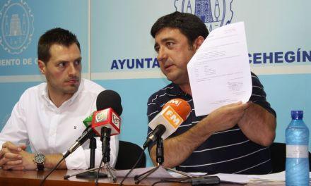 El equipo de Gobierno de Cehegín estudia emprender acciones legales contra Ciudadanos