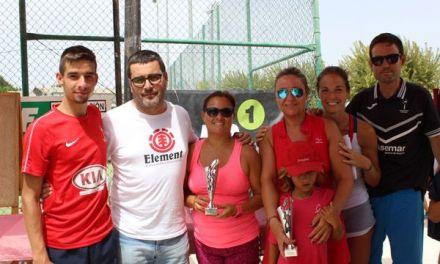 Récord de participación de tenis y pádel de las Fiestas Patronales