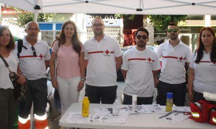 Cruz Roja realiza una campaña sobre primeros auxilios en Cehegín
