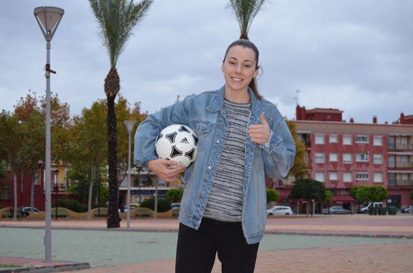 Noelia Montoro, jugadora del Pozo Fútbol Sala