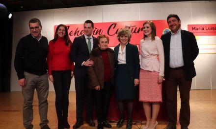 La Ministra María Luisa Carcedo inaugura el 'Cehegín Cultural 2018'