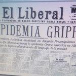 La Gran Gripe de 1918 en las comarcas del Noroeste y Río Mula