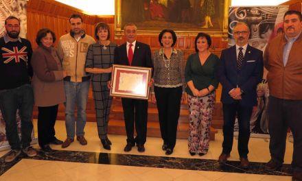 El Salón de Plenos acogió el acto de presentación de Pedro Guerrero como pregonero de las fiestas patronales de Caravaca