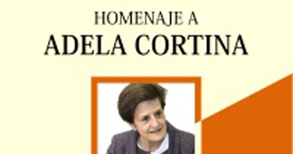 """""""Ética y filosofía política"""", el libro homenaje a Adela Cortina"""