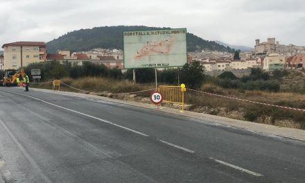 Se han iniciado las obras para la adecuación y mejora de más de 200 metros de cuneta y acequias en la carretera de Calasparra