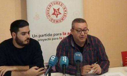 El PCE y la UJCE presentan en Murcia su campaña contra las casas de apuestas