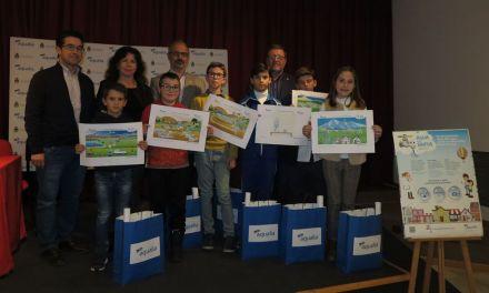 Seis escolares caravaqueños, premiados en el XVI concurso del 'Día Mundial del Agua' de Aqualia