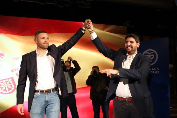 Fernando López Miras y José Francisco García