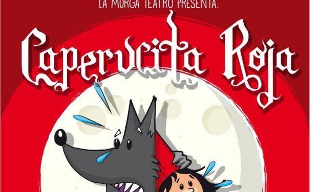 La Murga Teatro presenta su versión 'más loca' de Caperucita Roja en la Casa de la Cultura de Cehegín