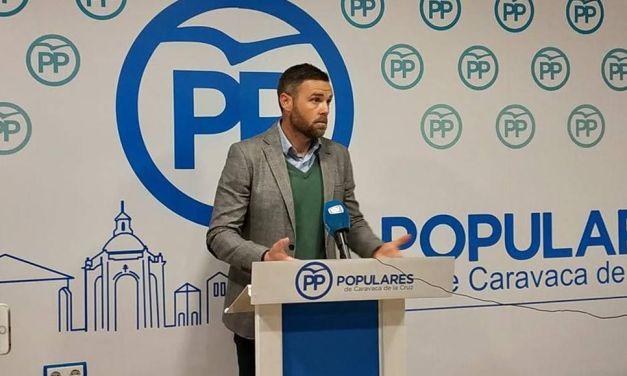 El PP exige al Alcalde de Caravaca claridad con el proyecto de la 'ciudad festera'