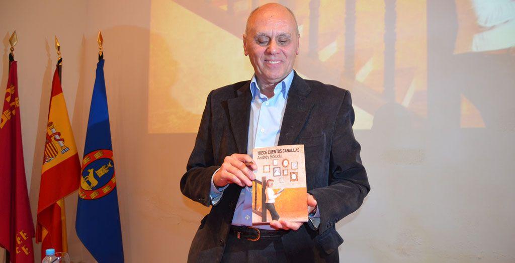 Andrés Boluda y sus 'Trece cuentos canallas'