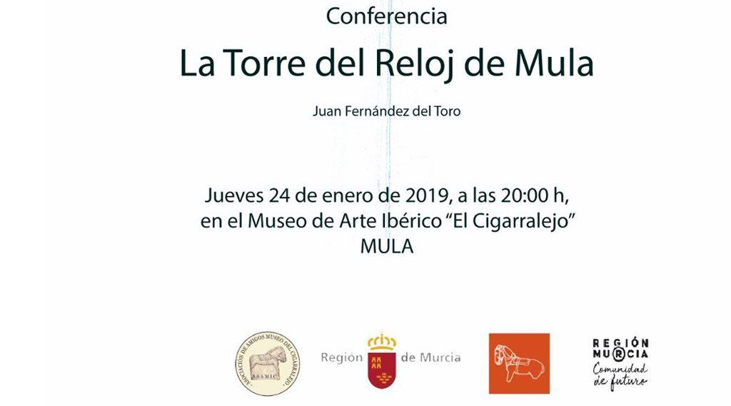 Conferencia sobre la Torre del Reloj de Mula este jueves