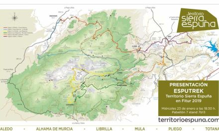 EspuTrek, la apuesta de la Mancomunidad Turística de Sierra Espuña en Fitur 2019