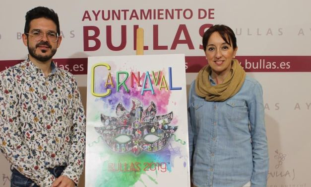 Presentada la programación del Carnaval 2019 de Bullas