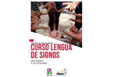 Curso de lengua de signos en Bullas