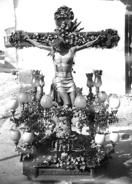 El Cristo de la Misericordia en 1926