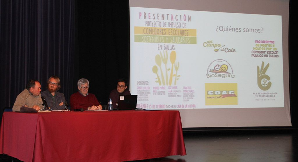 Presentado en Bullas el proyecto de comedores escolares ...