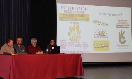 Presentado en Bullas el proyecto de comedores escolares sostenibles