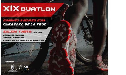 El XIX Duatlón Caravaca de la Cruz se celebra este domingo con 400 deportistas de categorías menores y absoluta