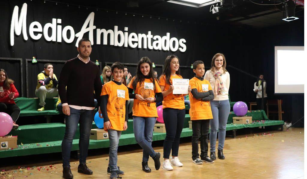 El equipo del colegio Ciudad de Begastri se proclama ganador del concurso 'Medioambientados' del curso 2018-19