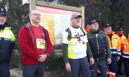 Más de 300 senderistas recorren el nuevo Sendero de La Almoloya