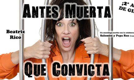 """""""Antes muerta que convicta"""", de Beatriz Rico, en Caravaca el 17 de febrero"""