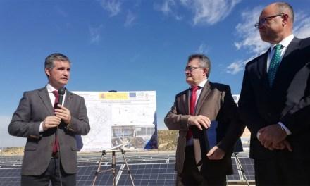 La Comunidad de Regantes de Pliego inaugura una parte del mayor parque solar fotovoltaico de España asociado al regadío