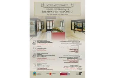 El Ciclo de Conferencias de Patrimonio Histórico del Museo Arqueológico arranca el viernes 22 de marzo