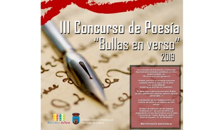 Publicadas en Bullas las bases para los concursos de cuentos infantiles y de poesía