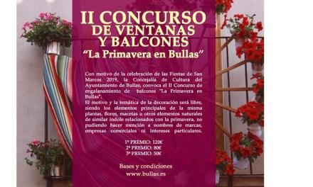II Concurso de engalanamiento de balcones 'La primavera en Bullas'