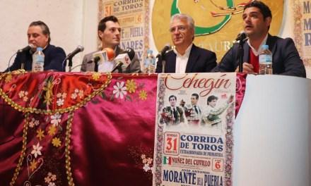 """El empresario Reverte presenta el """"cartel de lujo"""" para marzo y avanza que El Rubio y David Fernández torearán en septiembre"""