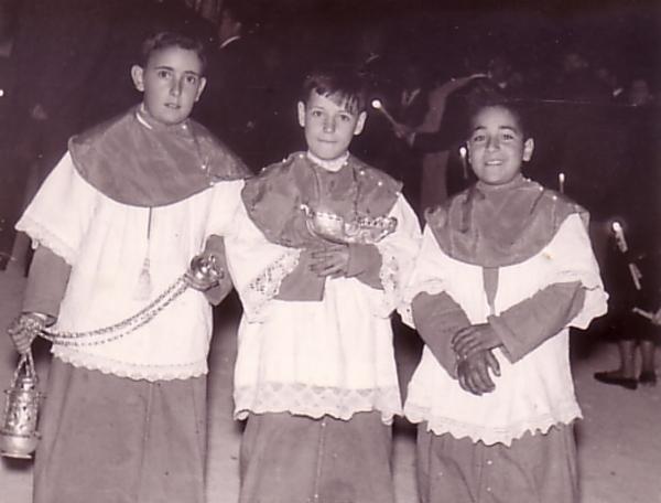 José Antonio, Alejandro y Ángel