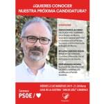 La Ministra de Sanidad acompañará a José Moreno en la presentación de su candidatura a las elecciones 2019