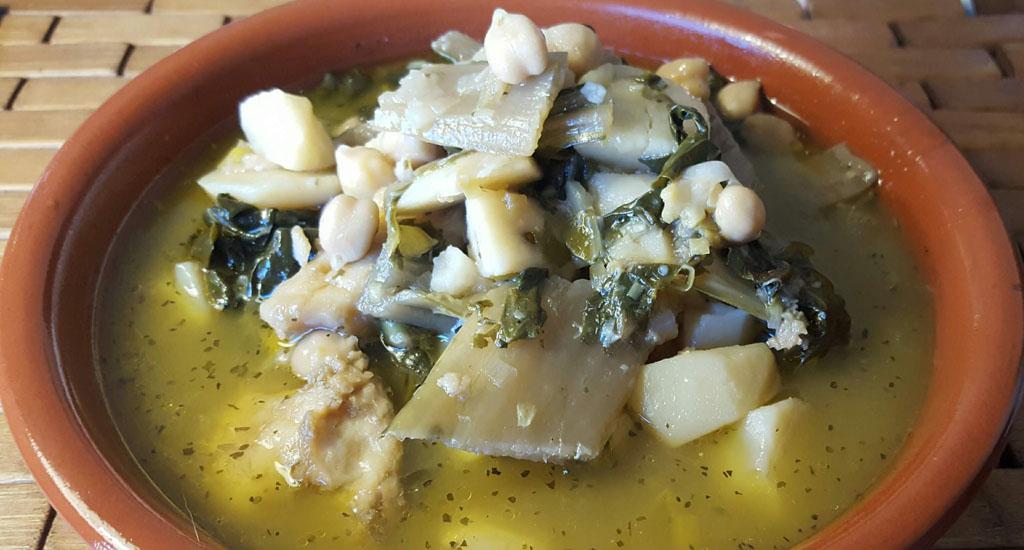 Platos de caballeros… de mogollón (II (otra sopa de acelgas)