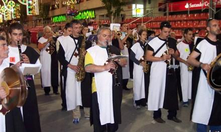 La entrada de bandas de música de Caravaca de la Cruz