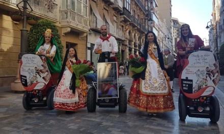 Las fiestas patronales de Caravaca se promocionan en las principales ciudades de la Región y provincias limítrofes