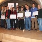 Entregados los premios del III Certamen de Maridajes Vinarte 2019