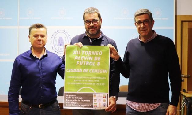 Seis equipos competirán el Jueves Santo por el triunfo en el XII Torneo Alevín de Fútbol 8 'Ciudad de Cehegín'