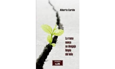 Raspabook publica «La rama nunca se desgaja limpia del leño», el nuevo poemario de Alberto Caride