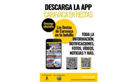 Disponible para su descarga gratuita la APP 'Caravaca en Fiestas' con información actualizada y notificaciones