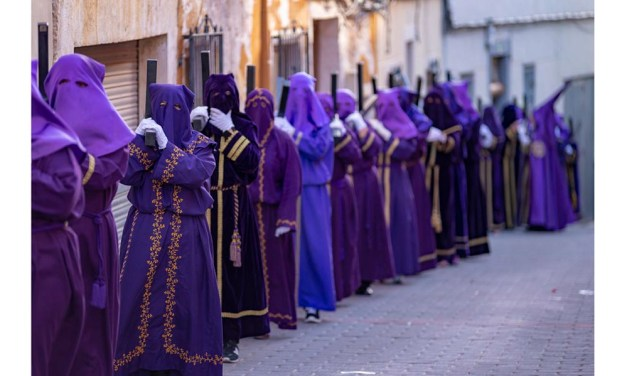 Mañana de viernes santo en Bullas