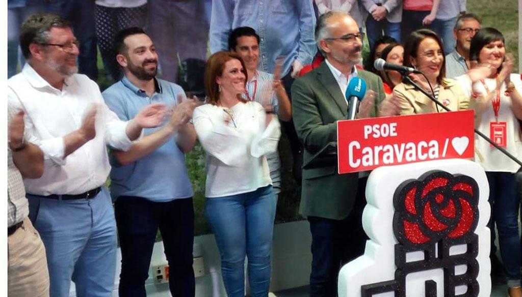 El PSOE gana en Caravaca