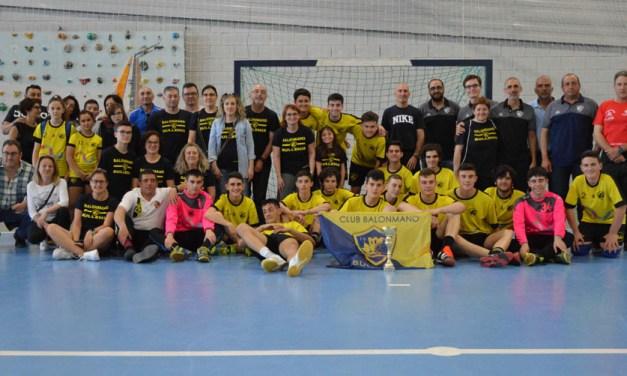 La Copa Federación de la Región de Murcia de balonmano en categoría cadete se queda en Bullas