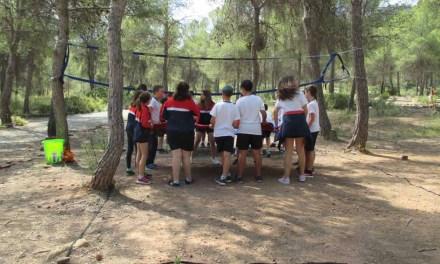 Los participantes en el concurso 'Medioambientados' 2018-19 celebran una jornada de convivencia en el Parque Ecológico