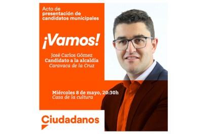 Ciudadanos Caravaca presenta este 8 de mayo a sus candidatos en un acto público en la Casa de la Cultura
