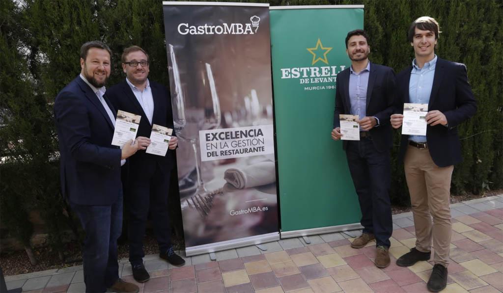 Murcia acogerá en noviembre el 'I Curso GastroMBA' para profesionales y emprendedores en hostelería