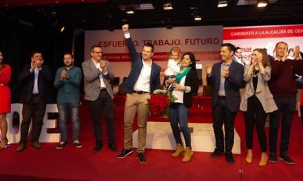 Emotivo acto de presentación del equipo de personas que acompañarán a José Rafael Rocamora en las próximas Elecciones Municipales del 26 de mayo