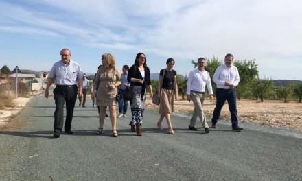 Los vecinos de las zonas rurales de La Copa de Bullas ven mejorada su accesibilidad con el arreglo del camino rural del Heredamiento