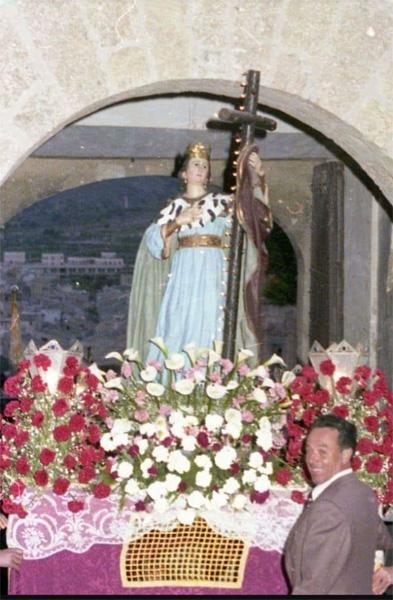 Santa Elena, a finales de los 70, principios de los 80